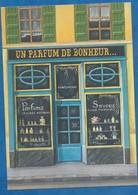 CPM Peinture BD 3 Parfumerie Parfum Un Parfum De Bonheur Par Béatrice Douillet - L'avion Postal - Peintures & Tableaux