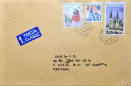 Slovakia, Circulated Cover To Portugal, - Slowakische Republik