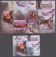 """Ireland 1997 Mi# Bl.24-25** BRAM STOKER'S """"DRACULA"""" - Neufs"""