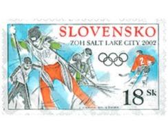 Ref. 106381 * MNH * - SLOVAKIA. 2002. XIX OLYMPIC WINTER GAMES. SALT LAKE CITY 2002 . 19 JUEGOS OLIMPICOS INVIERNO. SALT - Winter 2002: Salt Lake City