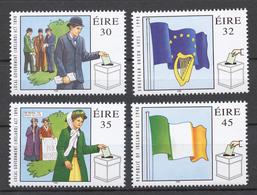 Ireland 1998 Mi# 1080-83** DEMOCRACY - Neufs