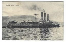 4553 - REGIA NAVE ROMA 1920 CIRCA MARINA ITALIANA - Guerra 1914-18