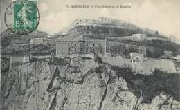 """CPA FRANCE 38 """"Grenoble, Fort Rabot Et La Bastille"""" - Grenoble"""