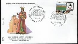 Italien Italy Italia 1992 - Marostica - Schach Chess Ajedrez échecs - Schach