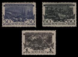 Russia / Sowjetunion 1945 - Mi-Nr. 960-962 ** - MNH - Sieg Bei Moskau - 1923-1991 UdSSR