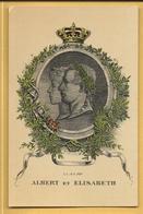 C.P.A.  Albert Et Elisabeth De Belgique - Other