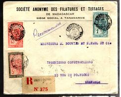 29583 - D'AMBOSITRA Pour La France - Madagascar (1889-1960)