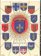Blason - Heraldique -  Provence -  CPSM ° - France