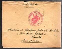 29607 - CONVOIS AUTOMOBILE TM 533 - Marcophilie (Lettres)
