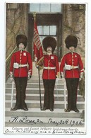 3362 Colours And Escort 1st Battalion Coldstream Guards 1906 Pour Chateau De La Foret Toulon-sur-Allier De Boissieu - Sonstige