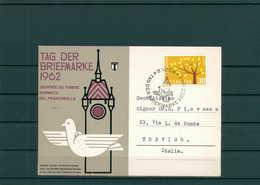 TAG DER BRIEFMARKE 1962 Beleg Siehe Beschreibung (201297) - Tag Der Briefmarke