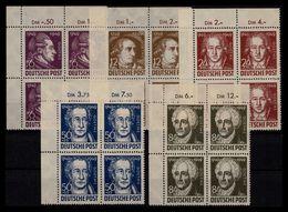 SBZ 1949 Nr 234-238 Postfrisch (206197) - Zona Sovietica