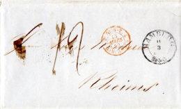1852 HAMBURG T & T Bf M.Tour-T. N.Reims - Germania