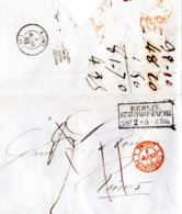 1852 BERLIN Champagner-Bestellung Bf Taxkorr. N.Reims - Germany