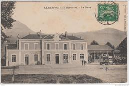 ALBERTVILLE LA GARE 1913 TBE - Albertville