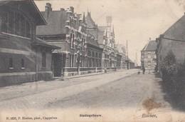 ESSEN / STATION / STATIEGEBOUW  1906 - Essen