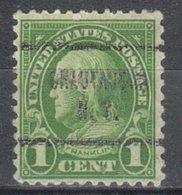 USA Precancel Vorausentwertung Preo, Locals New York, Chautauqua 632-713 - Vereinigte Staaten