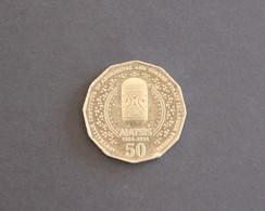 Australia 2014 50c AIATSIS Commemorative Coin 50 Cents - LOW MINTAGE - 50 Cents
