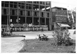 """1115 """" BOLOGNA -PIAZZA STAZIONE F. S"""" ALBERGO FALCONE PUBBLIC STOCK FOTO - Bologna"""