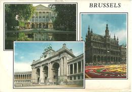 Bruxelles (Belgio) Vedute Edifici Storici, Vues, Views - Monumenti, Edifici