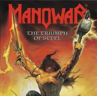 """CD  Manowar  """"  The Triumph Of Steel  """"  Allemagne - Non Classés"""