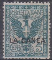 Levante Italiano La Canea 1905 SaN°5 MH/* Vedere Scansione - 11. Foreign Offices