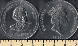 New Zealand 5 Dollars 1992 - Nuova Zelanda