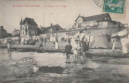 CARTE POSTALE   SAINT PAIR Sur MER 50  Le Casino Et La Plage - Saint Pair Sur Mer