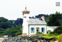 Set 6 Cartes Postales, Phares, Lighthouses Of Europe, France, Louannec, Le Phare De Nantouar - Phares