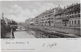 STRASBOURG : QUAI DE PARIS - Strasbourg
