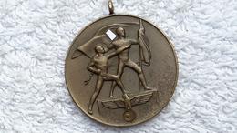 Medaille Orden Zur Erinnerung Sudetenmedaille 1 Oktober 1938 Teils Entnazifiziert Abzeichen - Germany