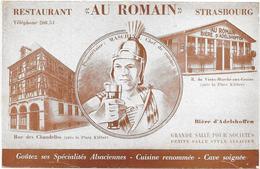 "STRASBOURG : RESTAURANT ""AUX ROMAINS' - Strasbourg"