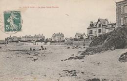 CARTE POSTALE   SAINT PAIR Sur MER 50  La Plage Saint Nicolas - Saint Pair Sur Mer