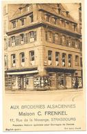 STRASBOURG : AUX BRODERIES ALSACIENNES - Strasbourg