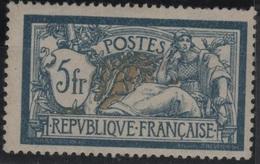 FR 1299 - FRANCE N° 123a Neuf* Merson Côte 200 € - 1900-27 Merson
