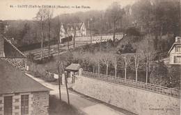 CARTE POSTALE   SAINT JEAN LE THOMAS 50  Les Hauts - France