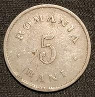 ROUMANIE - ROMANIA - 5 BANI 1900 - Carol I - KM 28 - Roumanie