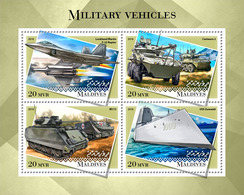 Maldives 2018 Militaria Vehicles - Militares