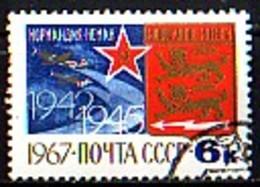 RUSSIA - UdSSR - 1967 - Normandia Nemen - 1v(O) Mi 3401 - 1923-1991 URSS