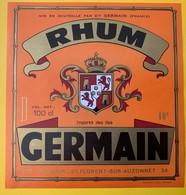 12526 -  Rhum Germain Importé Des îles - Rum