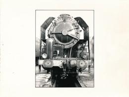 J69 - PHOTOGRAPHIE - Hommage à La Vapeur De Claude Vadam - La Locomotive à Vapeur 1077 - Trains
