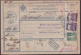 Croatia SHS, Našice, Money Transfer Form, Mailed Februar 1919 - Storia Postale