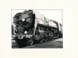 J69 - PHOTOGRAPHIE - Hommage à La Vapeur De Claude Vadam - Une Locomotive à Vapeur - Trains