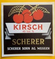 12535 -  Kirsch Scherer Meggen - Etiketten