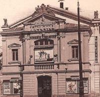 """SAINT-MAUR (94) - Avenue Du Bois-Guimier En 1937 - Le Théâtre - A L'Affiche """"Le Père Lampion"""" De Christian-Jaque - - Saint Maur Des Fosses"""