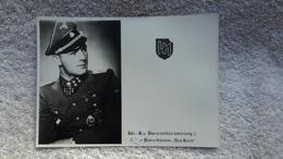 Foto Repro RK Träger Elite Panzer Militär Uniform - Personnes