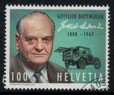Suisse // Schweiz // Switzerland //  2013 // Gottlieb Duttweiler ,  No.1454 Oblitéré - Suisse