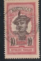 MARTINIQUE  Timbre De 1908-18  N° 94 Oblitéré - Gebraucht