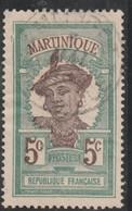 MARTINIQUE Chiffre De La Valeur En Brun   N°64 Oblitéré - Gebraucht