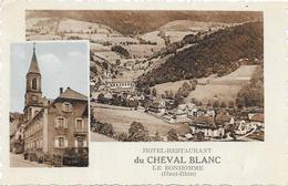 LE BONHOMME : RESTAURANT DU CHEVAL BLANC - France
